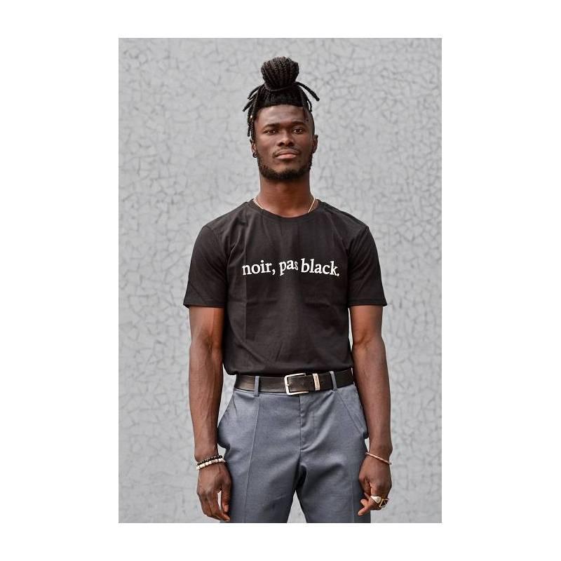 T-shirt NOIR, PAS BLACK, couleur noir