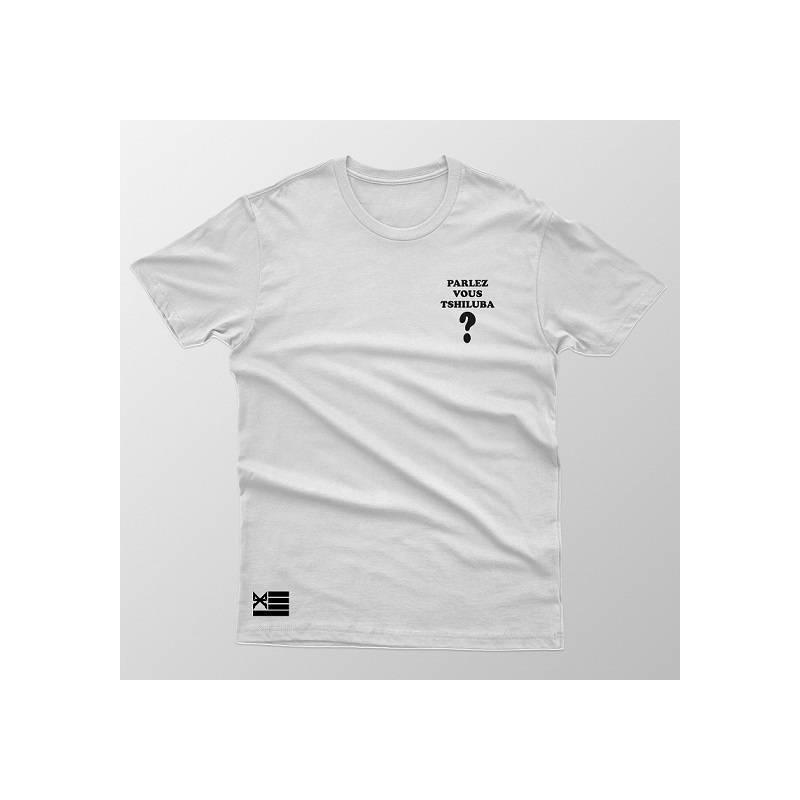 T-shirt Parlez-vous Tshiluba ?