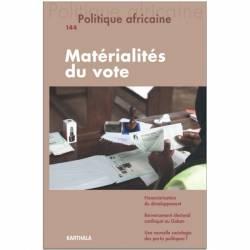 Politique africaine n°144 : la matérialité du vote