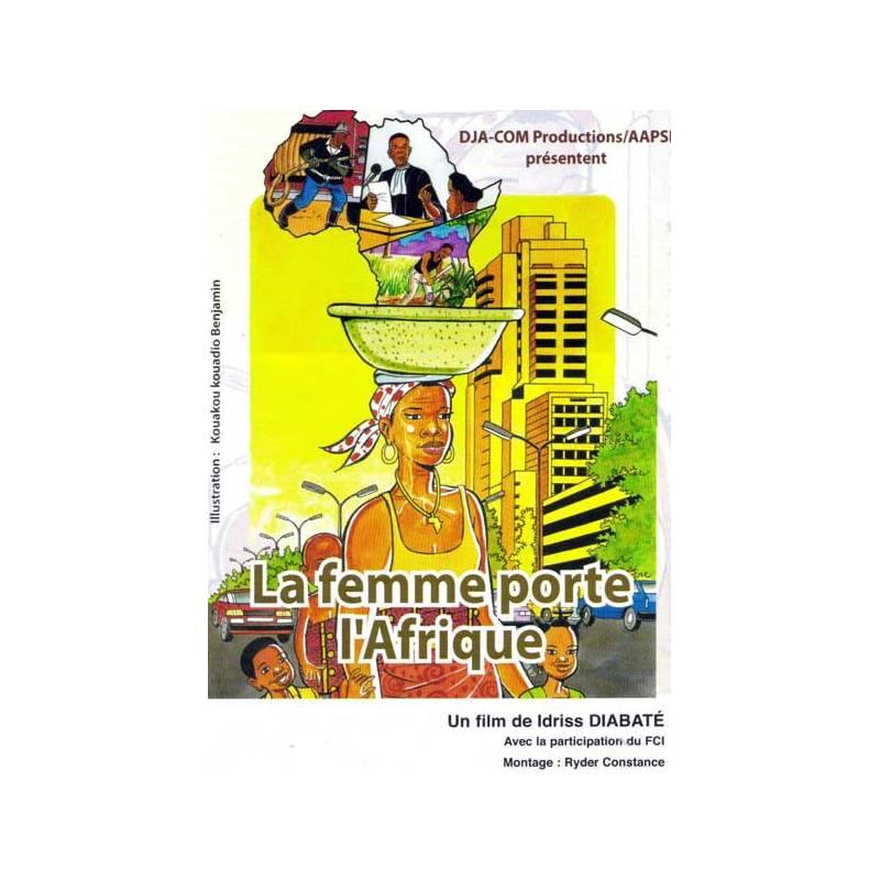 La femme porte l'Afrique de Idriss Diabaté