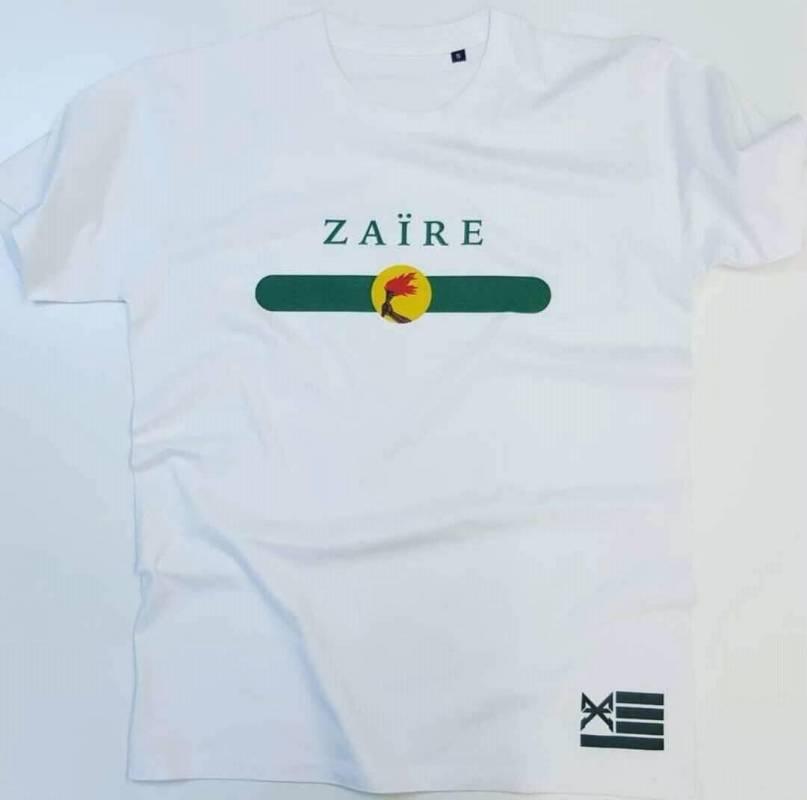 T-shirt ZAÏRE avec le drapeau