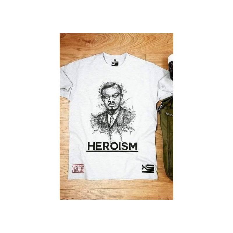 T-shirt HEROISM - LUMUMBA 1925-1961 FOREVER