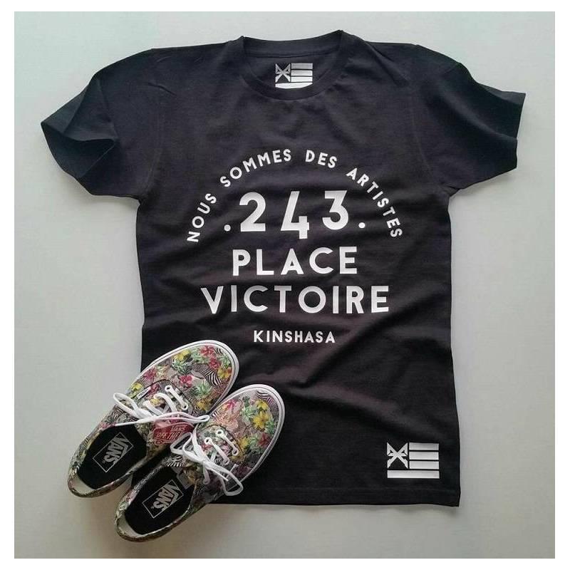 T-shirt PLACE VICTOIRE - NOUS SOMMES DES ARTISTES